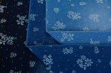 Spandex oscuro del poliester del algodón del añil del telar jacquar 7.8OZ para los pantalones vaqueros