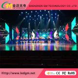 Innen-HD, das Bildschirmanzeige LED-P3.91 für Mietstadiums-Erscheinen druckgießt