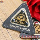최신 판매 주문 PU 청바지 상표 로고 가죽 레이블