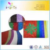 Zelfklevende de Kleuren van de mengeling schitteren Document voor het Bewerken