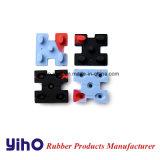 A borracha de silicone/teclados de silicone e botão de Borracha