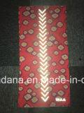 Шарф шеи черноты 25*50cm продукции фабрики изготовленный на заказ покрашенный цветом трубчатый с нашивкой 3m отражательной