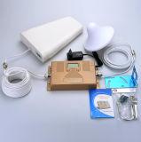Répéteur mobile à deux bandes de signal de téléphone cellulaire d'UMTS de la servocommande CDMA de 850/2100MHz Siganl