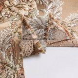 Polyester-Jacquardwebstuhl-Blumen-Entwurfs-Polsterung-Gewebe