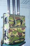 Brouilleur léger de sac à dos/de téléphone cellulaire haute énergie 3G 4G de Manpack