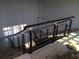 Balaustra del corrimano del ferro saldato dell'acciaio dolce per il terrazzo