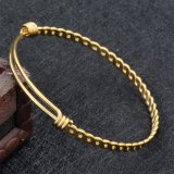 Fashion Bangle, Twist Wire bedelarmband