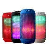 Stereolithographie neue des LED-Spalte-Impuls-drahtlose Lautsprecher-bunte Lichter FreisprechAltavoz Sport-3D
