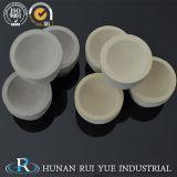 Crogioli di ceramica del crogiolo assaggiatore del fuoco della porcellana del laboratorio