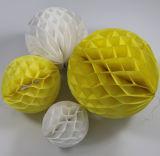 Las bolas de papel tisú mayorista Bola de papel de panal.