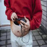 Saco falsificado unisex da cintura da barriga do saco superior do paizinho da venda