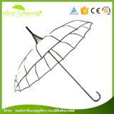 La pagode de haute qualité Parapluie noir de la mode pour dames