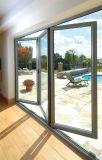 Puerta de plegamiento del vidrio Tempered de Pnoc080340ls con buen precio