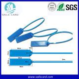 Étiquette en plastique de joint d'ABS d'IDENTIFICATION RF pour le rail de garantie