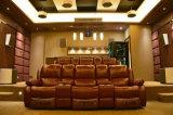 최신 판매 거실 가구 장치로 놓이는 부분적인 가정 극장 가죽