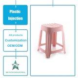 주문을 받아서 만들어진 다채로운 두꺼운 튼튼한 가구 플라스틱 의자 플라스틱 사출 성형