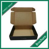 Подгонянная лоснистая сильная коробка гофрированной бумага