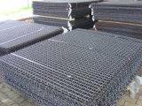 Сетка волнистой проволки обыкновенного толком Weave формировать ткань от Китая