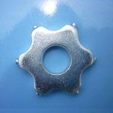 Резец скарификатора чистки выстилки карбида 6 спайков