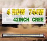 차를 위한 공장 공급 42inch 쿼드 줄 12V 24V LED 일 Offroad 표시등 막대