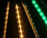 Lumière en baisse de météore de DEL de pluie colorée de douche pour décorer l'arbre