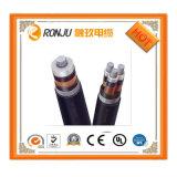 No. 0139 - cable de transmisión aislado XLPE eléctrico ignífugo eléctrico del cable 4c 35mm2 4X35mm2 del PVC 0.6/1kv