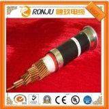 바다 XLPE 절연제 PVC 칼집 힘 전기 케이블 또는 철사