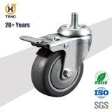 4 дюйма для скрытых полостей крепление поворотного шкворня поворотного самоустанавливающихся колес, средней мощности самоустанавливающегося колеса