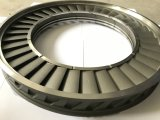 Anel do bocal para o Superalloy Ulas da peça 14.50sq da carcaça de investimento da turbina de gás