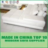 Sofà moderno del salone del sofà del cuoio di svago di figura di U