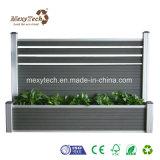 O design da caixa de flores WPC Composite Material novo cerca para Vida ecológica