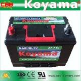 Alta CCA batteria marina di Bci-27-710 12V 80ah per l'automobile dell'America