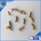 Tornillo y tuerca de cobre de cobre amarillo de acero modificados para requisitos particulares de tornillo de la pieza SS316 del CNC del metal de la alta precisión