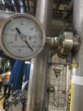 Корпус из нержавеющей стали санитарных уплотнение диафрагмы манометр