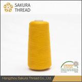 Filato cucirino del poliestere della prova di fuoco di Sakura 150d/2 per imbottire