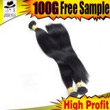 漆黒カラーブラジルの毛の織り方