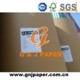Prix bon marché 60-120 GSM Jumbo Offset rouleau de papier de pâte de bois