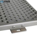 Tôle perforée en aluminium de trous ronds d'usine de la Chine