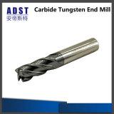 CNC che ricopre la fresa solida del laminatoio di estremità del carburo di tungsteno