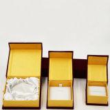 Стая Flocking ювелирные изделия корпии бархата плюша кладет в коробку (J46-E)