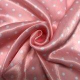 Velours en soie d'imitation estampé pour la robe de vêtement