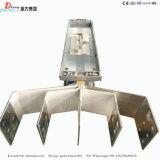 Sistema de entroncamento de barramentos compacta de alumínio