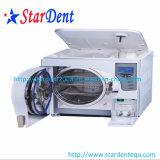 Autoclave dental médica do Sterilizer da classe B 23L do indicador do LCD da unidade dental de equipamento diagnóstico cirúrgico médico de Hosptial do laboratório