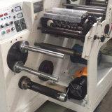 Machine de fente duelle de tourelle d'étiquette auto-adhésive avec le découpage