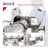 Le plastique PP PE vis unique de mise au rebut le bouletage ligne/le bouletage machine/la granulation de machine