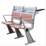 결합 학교 책상 및 의자 Xc-149를 접히는 최신 현대 알루미늄 합금 프레임