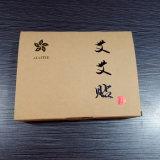 Matt de haute qualité impression offset couleur d'origine du papier kraft boîte cadeau