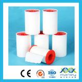 Fita cirúrgica transparente do zinco Oxide/PE do algodão