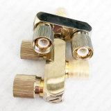 Мужчина формы 2 разъема y DIN 1.6/5.6 переходники RF коаксиальные Coax к разъём-розетка