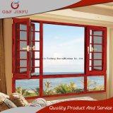 Spitzenaluminiumflügelfenster-Fenster mit Sicherheits-Rasterfeldern